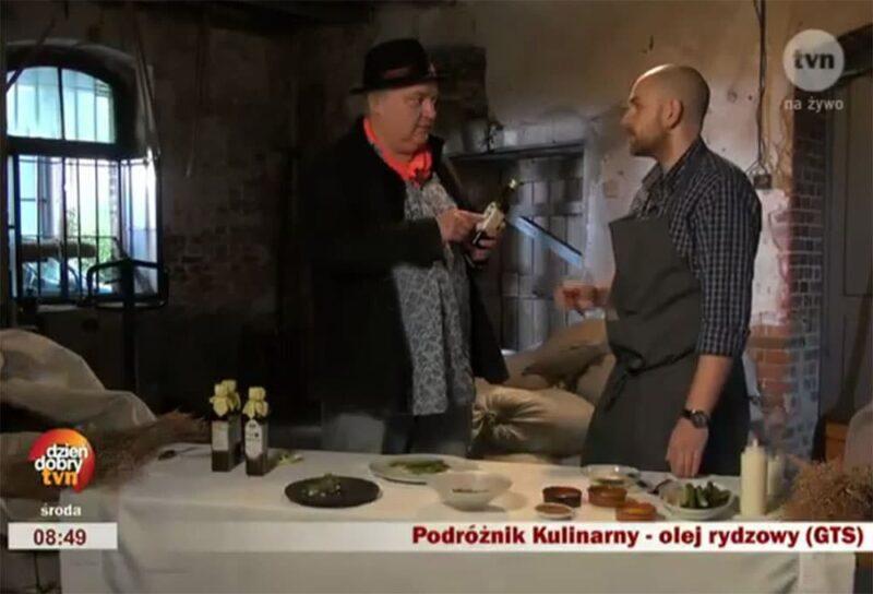Podróżnik kulinarny Maciej Nowak udał się do Szamotuł tropem oryginalnego oleju rydzowego.