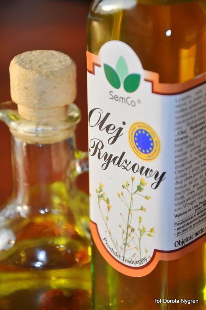 Recenzja naszego oleju rydzowego w portalu kulinarnym Smakuj Życie.