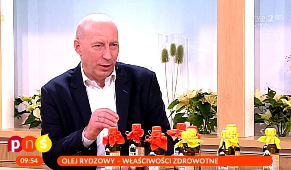 Marcin Just opowiada o właściwościach oleju rydzowego