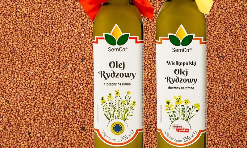Olej Rydzowy Semco UNIA z lnianki jarej wpisany jest na listę produktów tradycyjnych jako Gwarantowana Tradycyjna Specjalność Unii Europejskiej