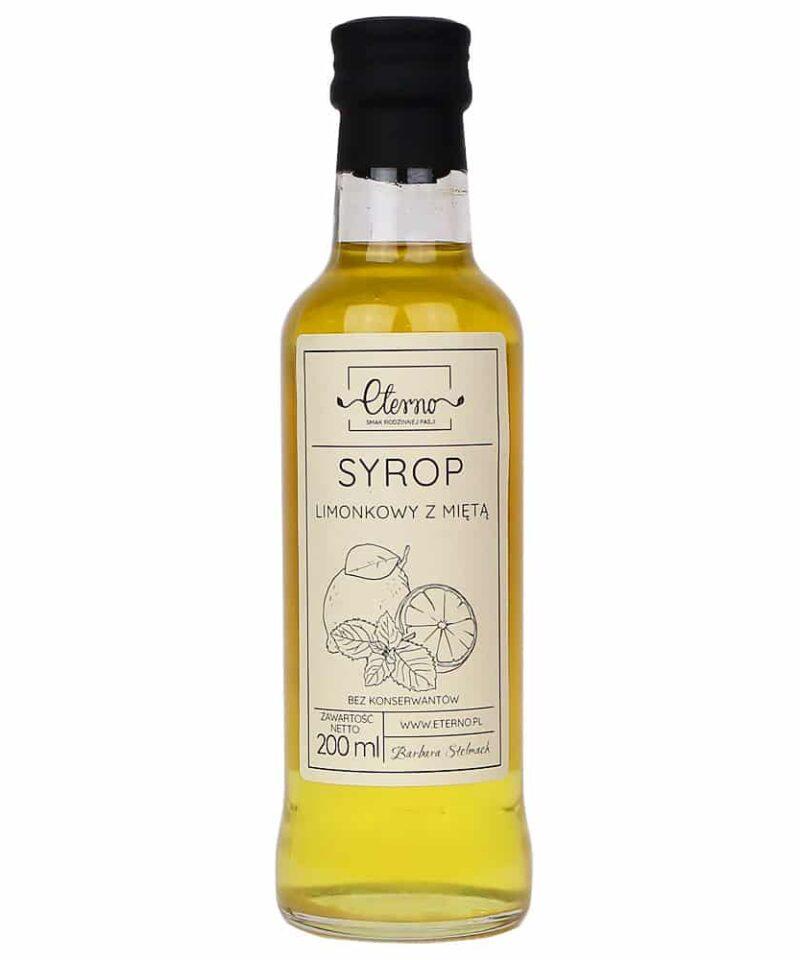 Syrop Limonkowy z Miętą