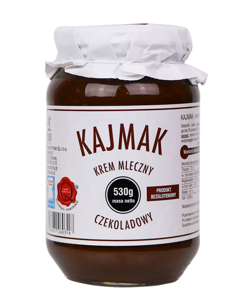 Krem mleczny czekoladowy, idealny do bezpośredniego spożycia oraz jako dodatek do deserów, przekąsek i przekładania wafli.