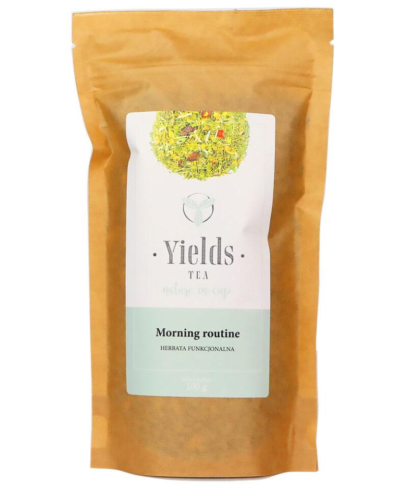 Herbatka funkcjonalna składająca się z ziół wspomaga prawidłową gospodarkę wodną organizmu oraz proces oczyszczania.