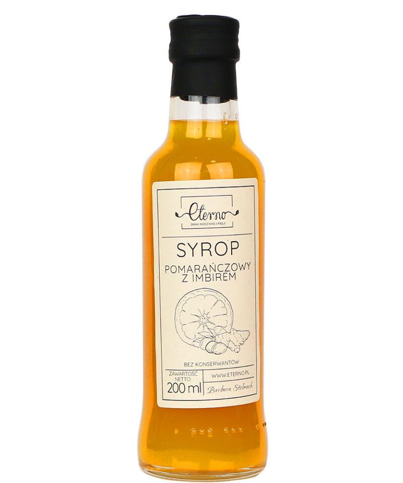 Syrop powstaje na bazie dojrzałych, soczystych, sycylijskich pomarańczy, które w połączeniu z cukrem oddają z siebie bardzo dużo aromatycznego soku.