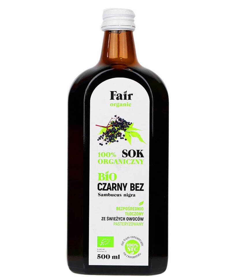 Sok z czarnego bzu ma lekko cierpki smak, jednak jego właściwości zdrowotne są niezastąpione.