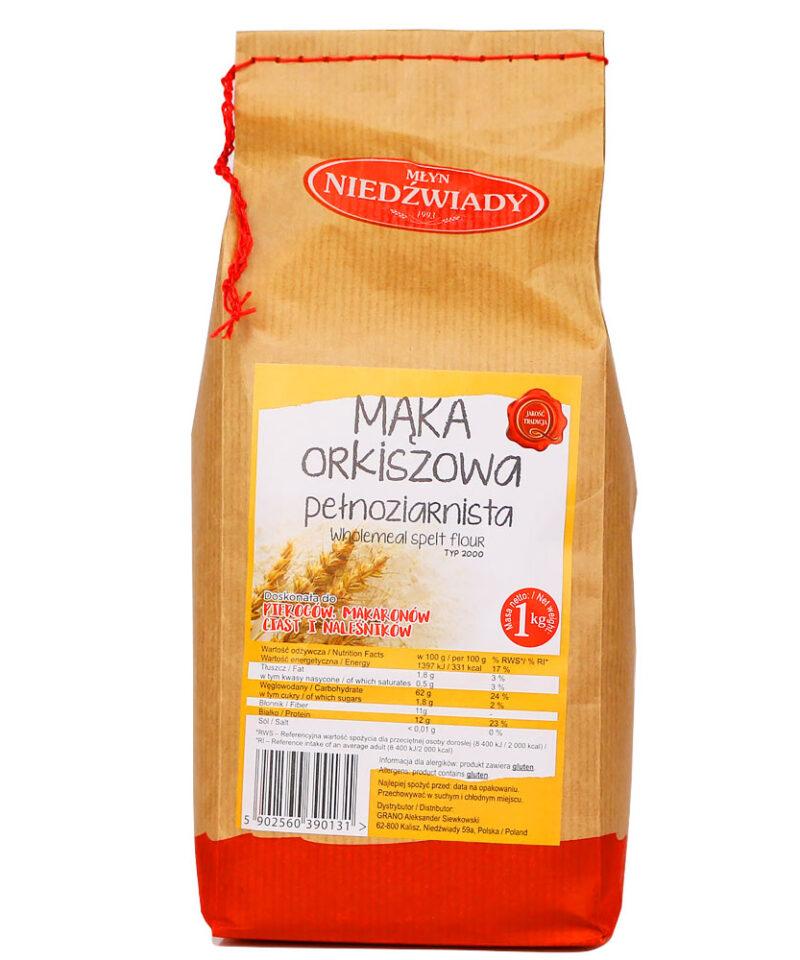 Mąka Orkiszowa stanowi cenne źródło manganu, fosforu, cynku czy żelaza.