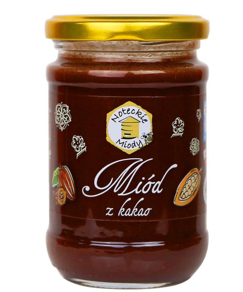 Miód z Kakao zawiera wiele korzystnych dla zdrowia składników.